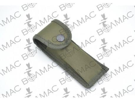 Чохол синтетичний на ніж складний розміри 110 мм*40мм колір хакі