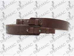 Ремінь для рушниці прямий 35 мм * 90 см шкіряний