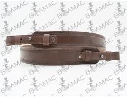 Ремень для ружья прямой тисненый №2 кожаный