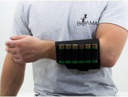 Подсумок на 6 патронов на руку синтетический черный