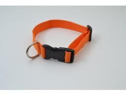 Ошейник капроновый 20мм оранжевый (1019)