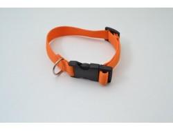 Ошейник капроновый 25мм оранжевый (1020)