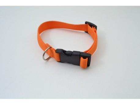Нашийник капроновий 25мм помаранчевий (1020)