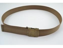 Ремінь поясний з пряжкою автомат койот 2306/2 (пряжка антик)