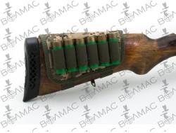 Патронташ на приклад 6 патронів Камуфляж