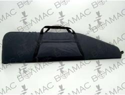Чехол на ружье под оптику с карманом 1,25 м. синтетический черный