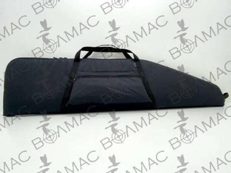 Чехол на ружье под оптику с карманом 1,35 м. синтетический черный