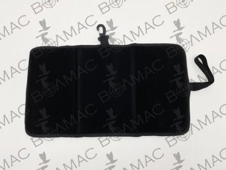 Чохол для сидіння синтетика чорний (3007)